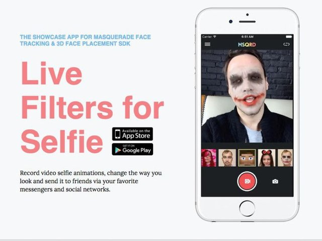 Face Tracking App