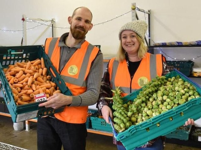 The Real Junk Food Project Sheffield Just Received 50 Tonnes