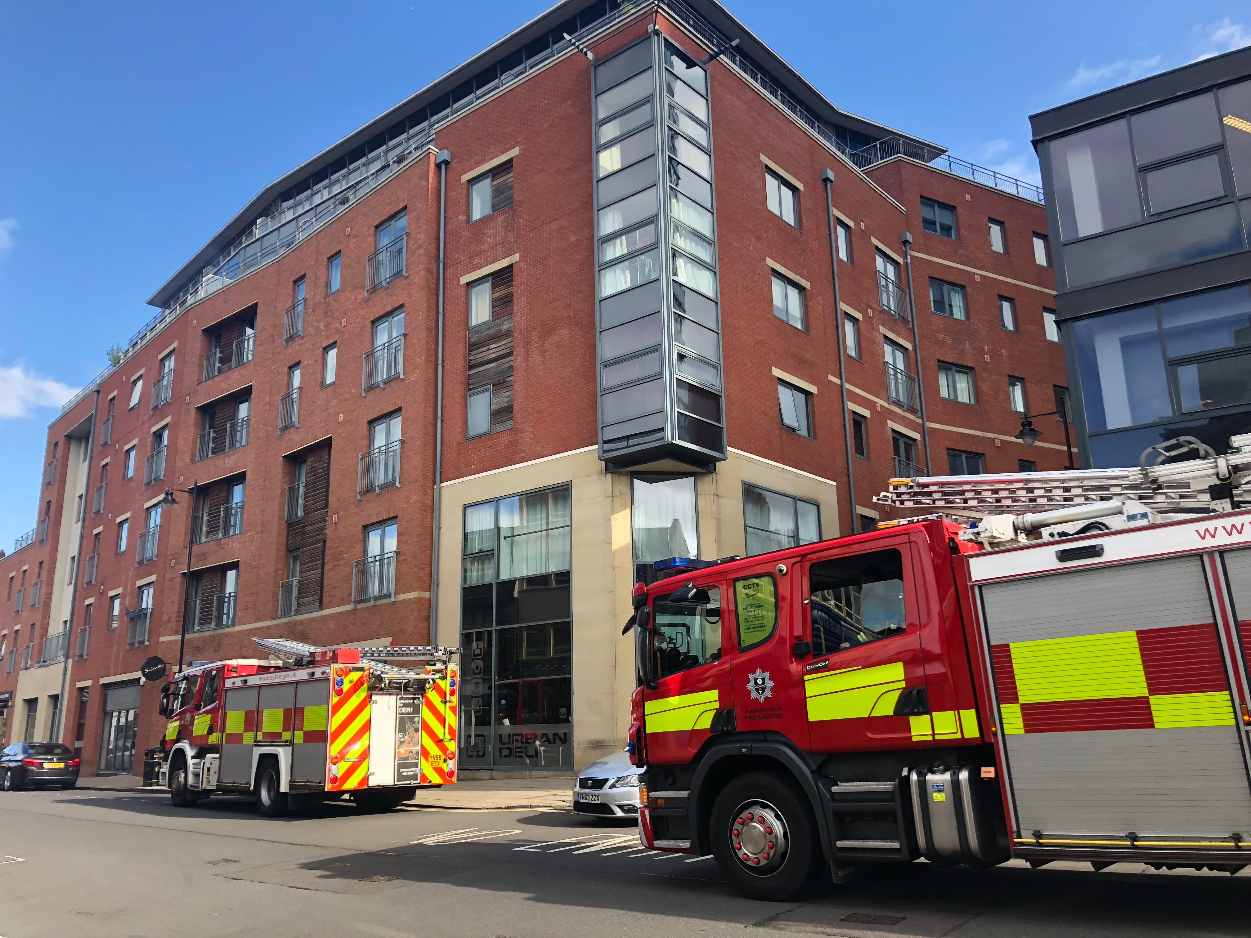 Barbecue on Sheffield balcony sparks fire alert   The Star