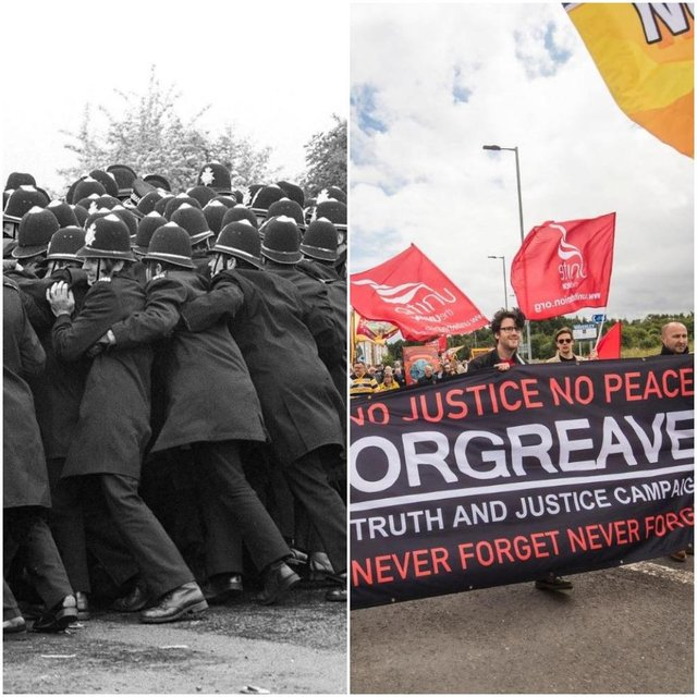 Campaigners will mark the 35 years since the Battle of Orgreave with a protest march today
