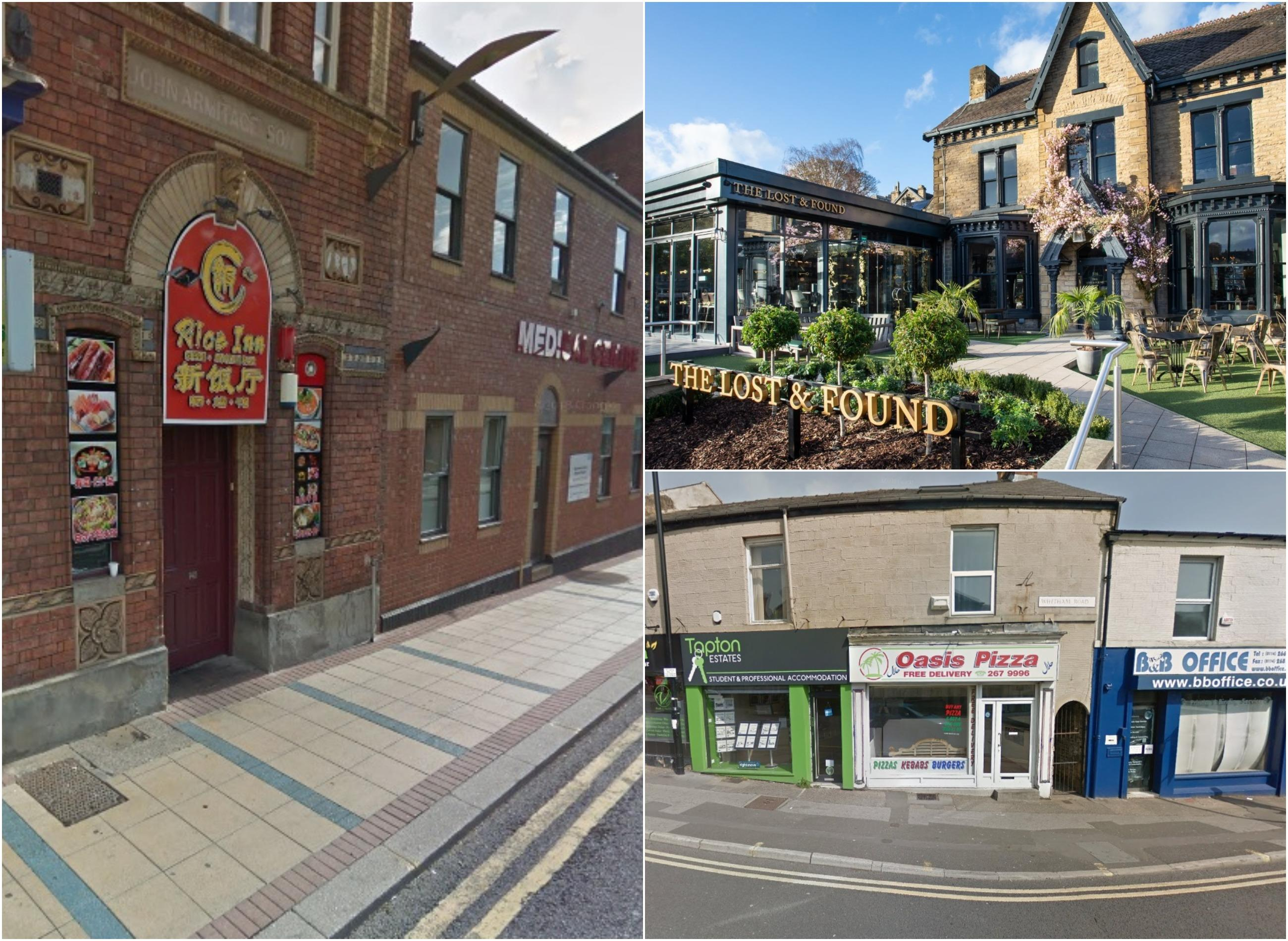 The 26 Best And Worst Sheffield Restaurants For Food Hygiene