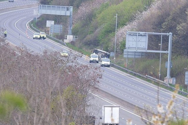 Driver feared dead after crash on M1 near Sheffield | The Star