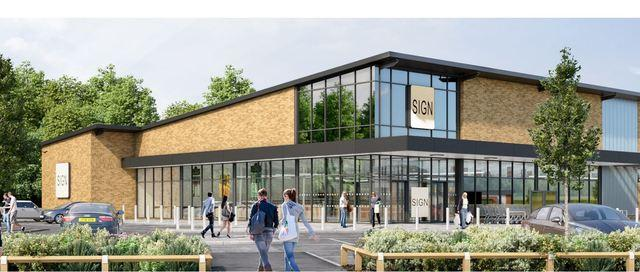 A Brand New Aldi And Costa Coffee Could Open Opposite