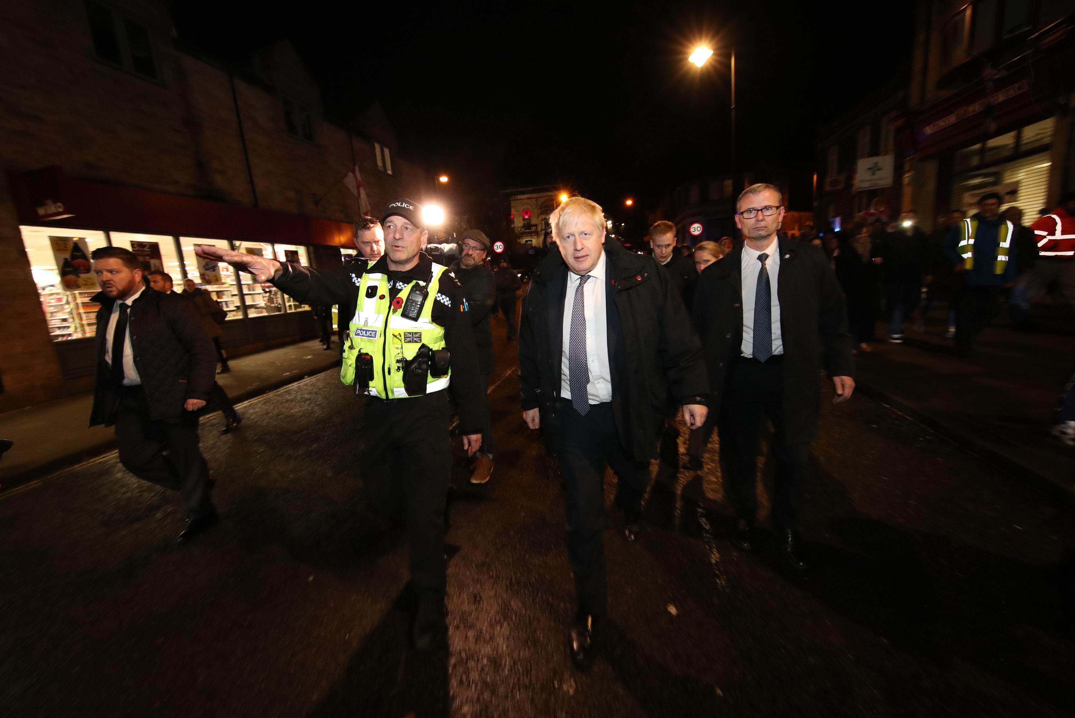 Prime Minister Boris Johnson calls emergency committee meeting over response to South Yorkshire floods