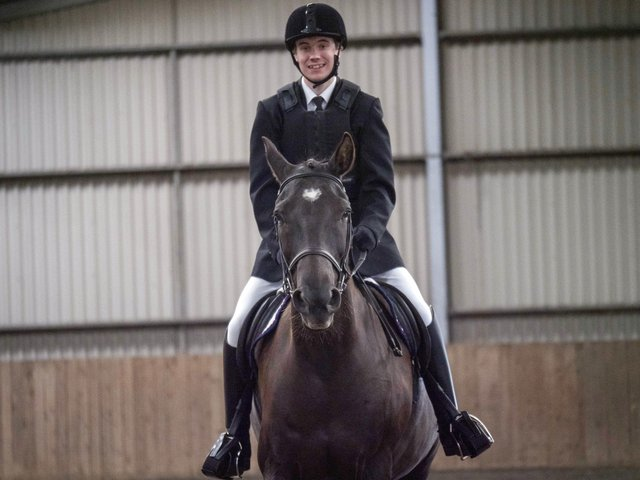 Olympic-hopeful equestrian riders compete in event at centre