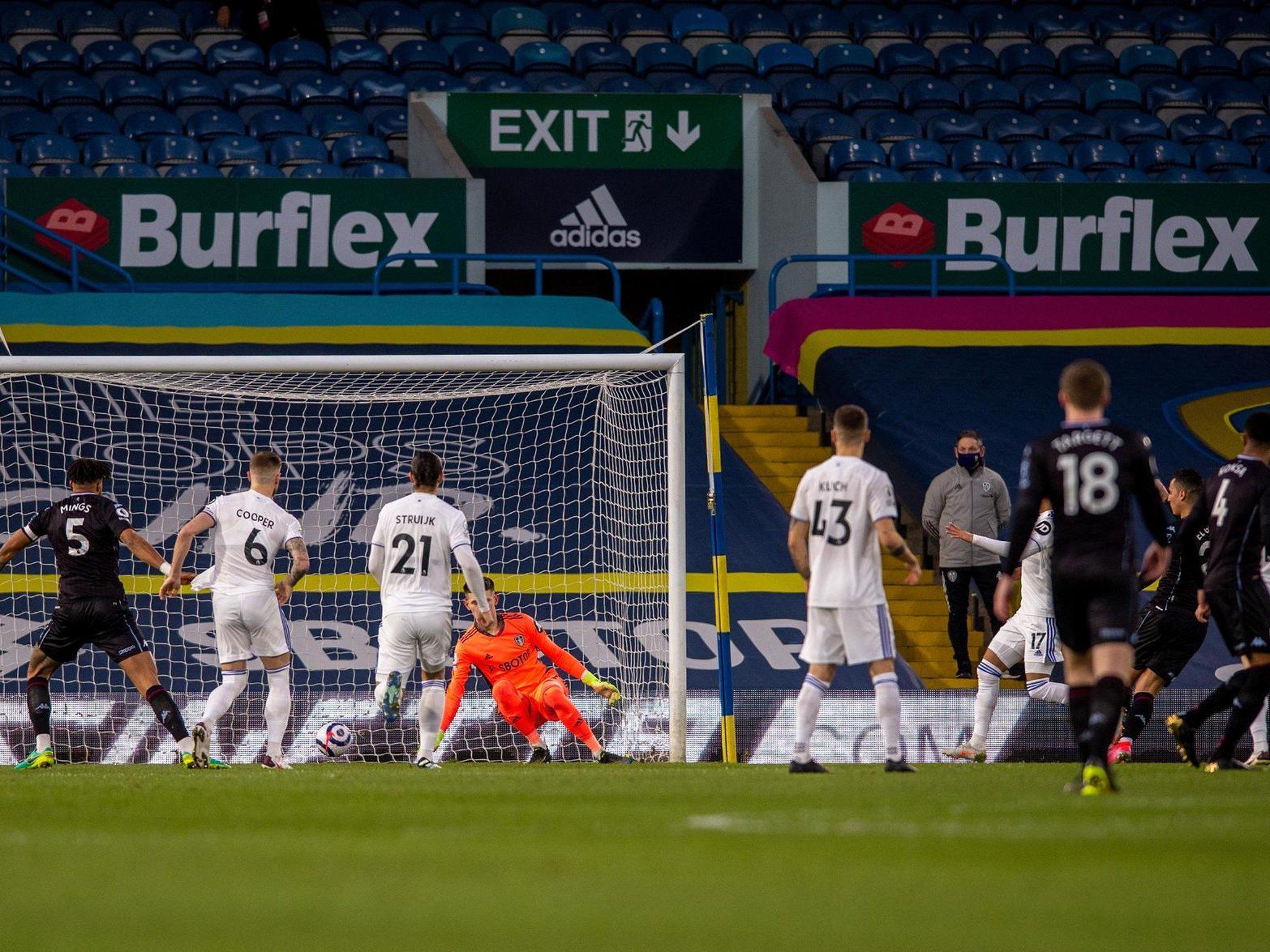 Leeds United 0 Aston Villa 1: Whites setback as Anwar El Ghazi lays Elland Road ghost