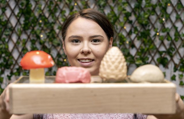 Alice Cassinelli is serving a winter themed afternoon tea at her cafe, Cassinelli's on Bank Street. Picture Scott Merrylees