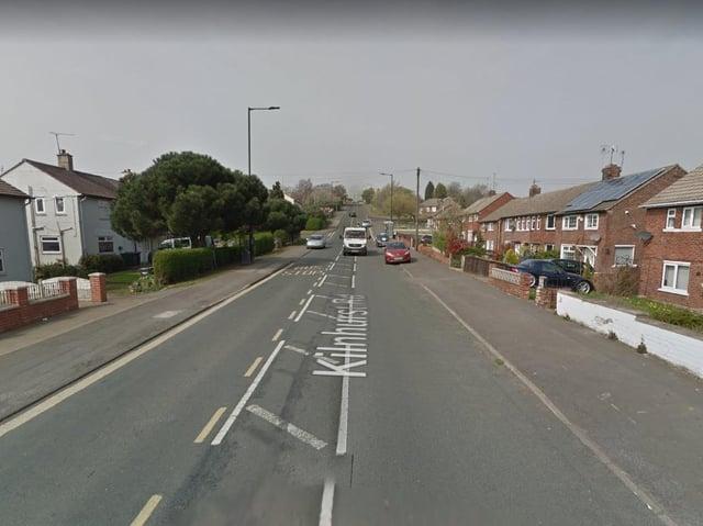 Kilnhurst Road, Rawmarsh (photo: Google).