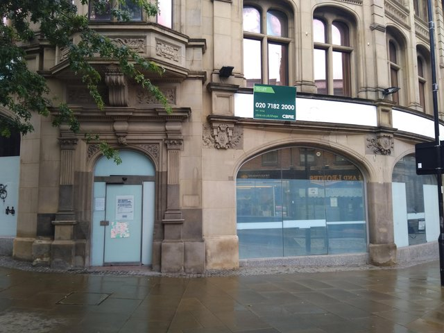The former bank on Surrey Street will be a hotel.