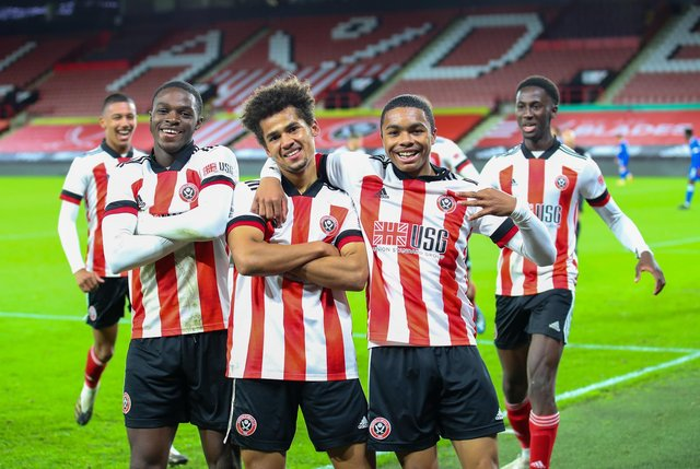 Several of Sheffield United's youngsters could get an outing against Europa Point: Simon Bellis/Sportimage