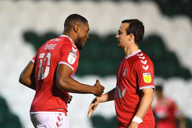 Chuks Aneke of Charlton Athletic apparently wants to stay at the club. (Photo by Harry Trump/Getty Images)
