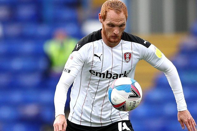 Rotherham United will have Shaun MacDonald available for the trip to Bournemouth tomorrow evening. (Photo by Jan Kruger/Getty Images)