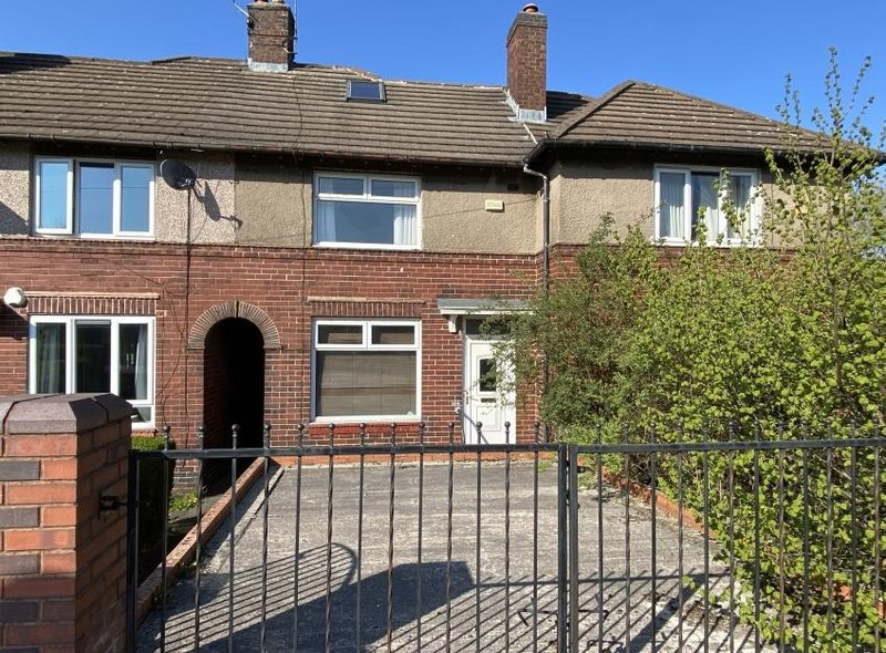 This terraced house in Longley Avenue West, Shirecliffe sold for £41,000 above the guide price.