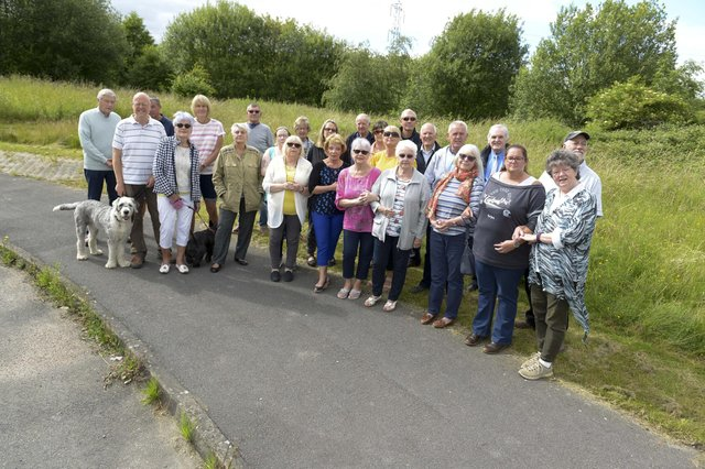 Owlthorpe Fields Action Group who are opposed to 500 new houses being built adjacent to Moorthorpe Bank
