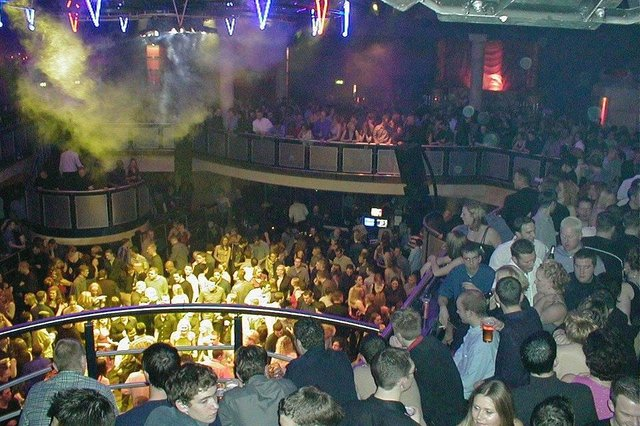 A completely packed-out Kingdom in Sheffield