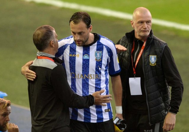 Former Sheffield Wednesday forward Atdhe Nuhiu.