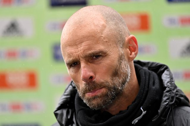 An emotional Paul Warne spoke of his disappointment in Sheffield Wednesday's relegation.