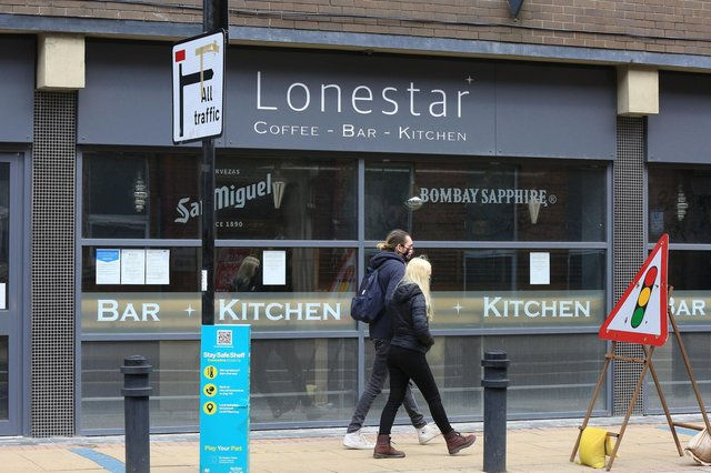 Former Lonestar cafe, and Costa before that, on Division Street. Picture: Chris Etchells