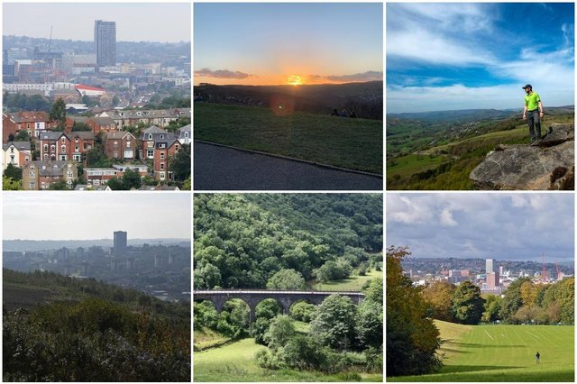 There are plenty of beautiful locations in Sheffield and the Peak District to watch the sunset