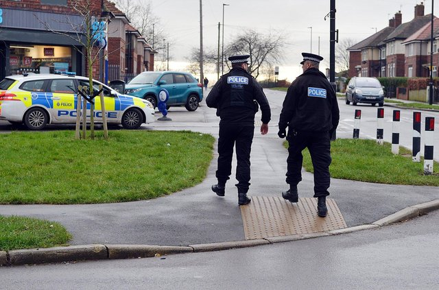 Police officers in Sheffield are clamping down on armed crime