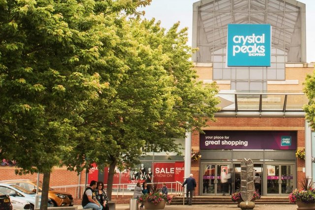 Crystal Peaks: Blue Inc and Leading Labels are opening stores.