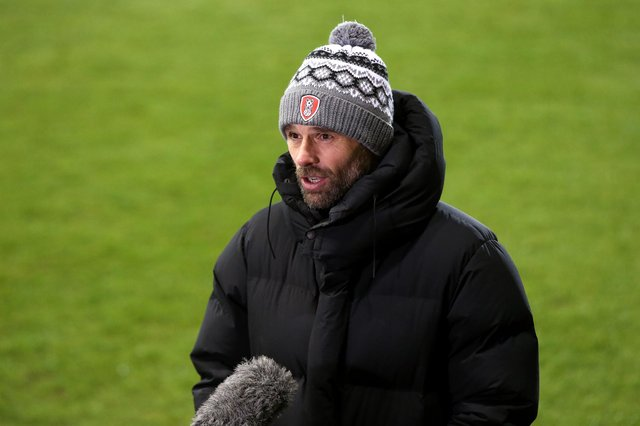Rotherham United manager Paul Warne. (Photo by Charlotte Tattersall/Getty Images)
