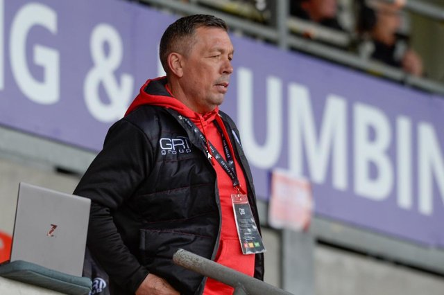 Sheffield Eagles coach Mark Aston.