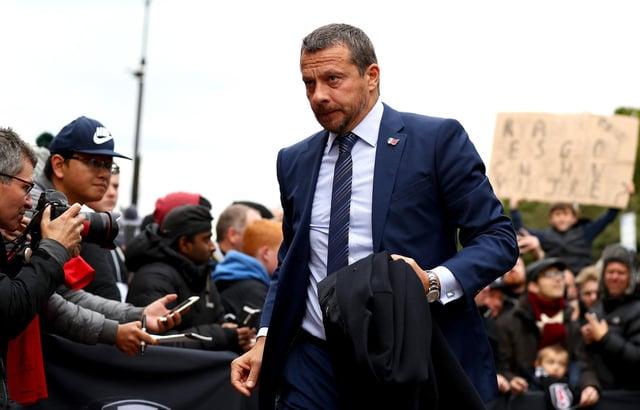 Slavisa Jokanovic arrives at Sheffield United on Thursday: Clive Rose/Getty Images