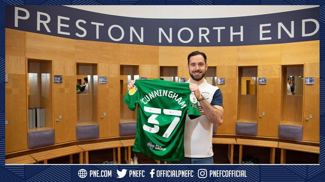 Greg Cunningham has signed for Preston North End - he was linked with Sheffield Wednesday. (via @PNEFC)