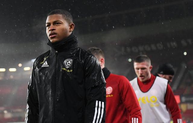 Sheffield United striker Rhian Brewster