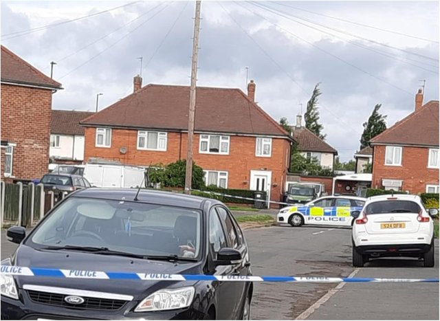 Chalmers Drive in Clay Lane has been sealed off overnight and remains closed this morning.