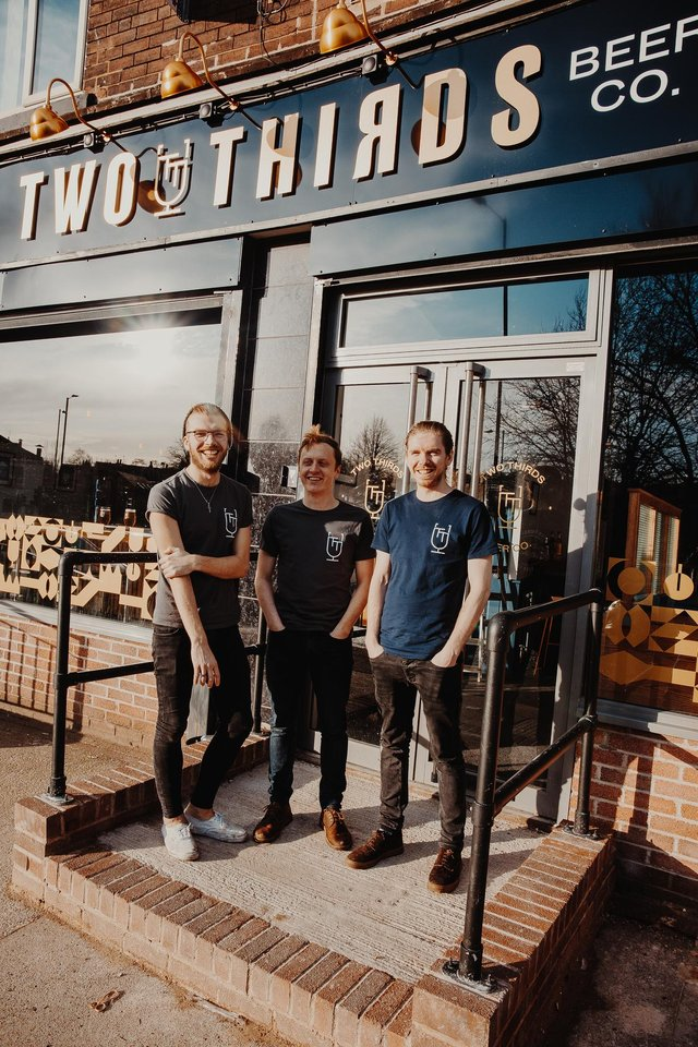 The team at Two Thirds. Picture: Matt Waterhouse Photography