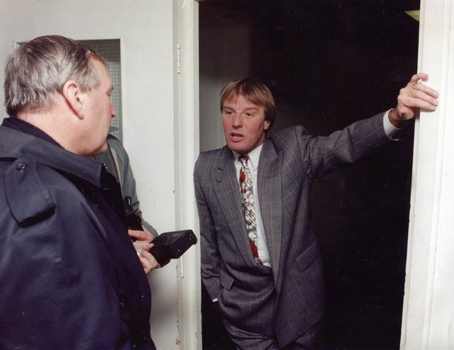 Dave Bassett pictured in 1994, in his days as Sheffield United manager