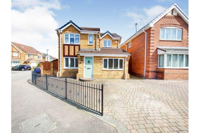 The three-bed house is said to be in immaculate condition.