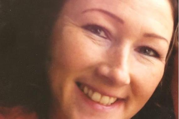 Pictured is deceased Maria Howarth, aged 44, of School Lane, Greenhill, Sheffield, who was strangled and murdered in her own home.