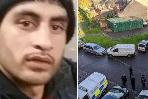 Pictured is deceased Kamran Kahn, who died aged 28, after he was found with a fatal stab wound at a property on Club Garden Road, Highfield, Sheffield, near Sharrow, on November 15, 2020.