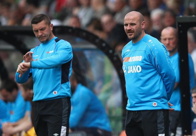 Chester joint-managers Bernard Morley and Anthony Johnson are looking forward to the visit of Sheffield Wednesday.