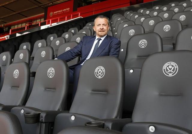 Slavisa Jokanovic, the new manager of Sheffield United.