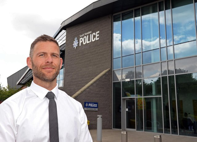 Detective Chief Inspector Jamie Henderson