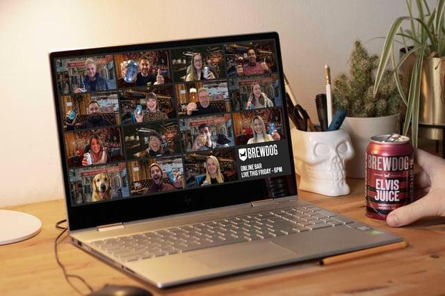 BrewDog's online virtual bar.