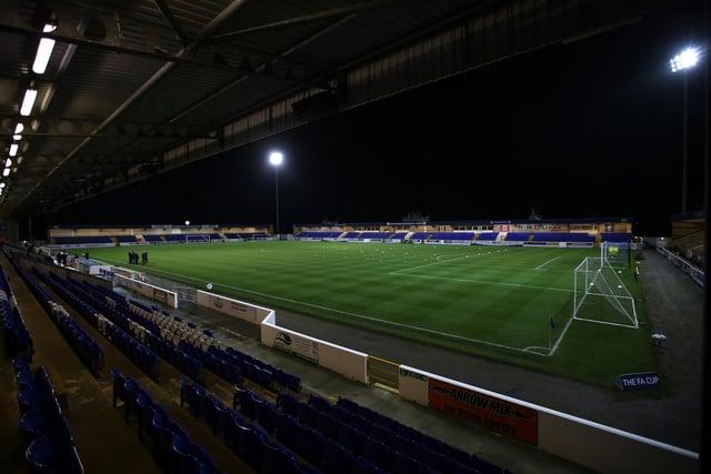 Chester's Deva Stadium.