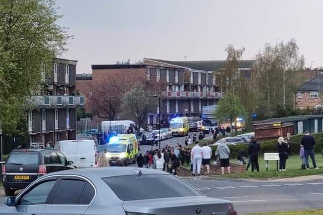 Ambulances in Sheffield- Credit: Jennie Rachael