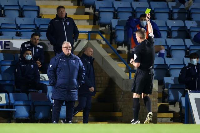 Gillingham boss Steve Evans.