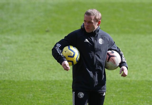 Del Geary of Sheffield United: Simon Bellis/Sportimage
