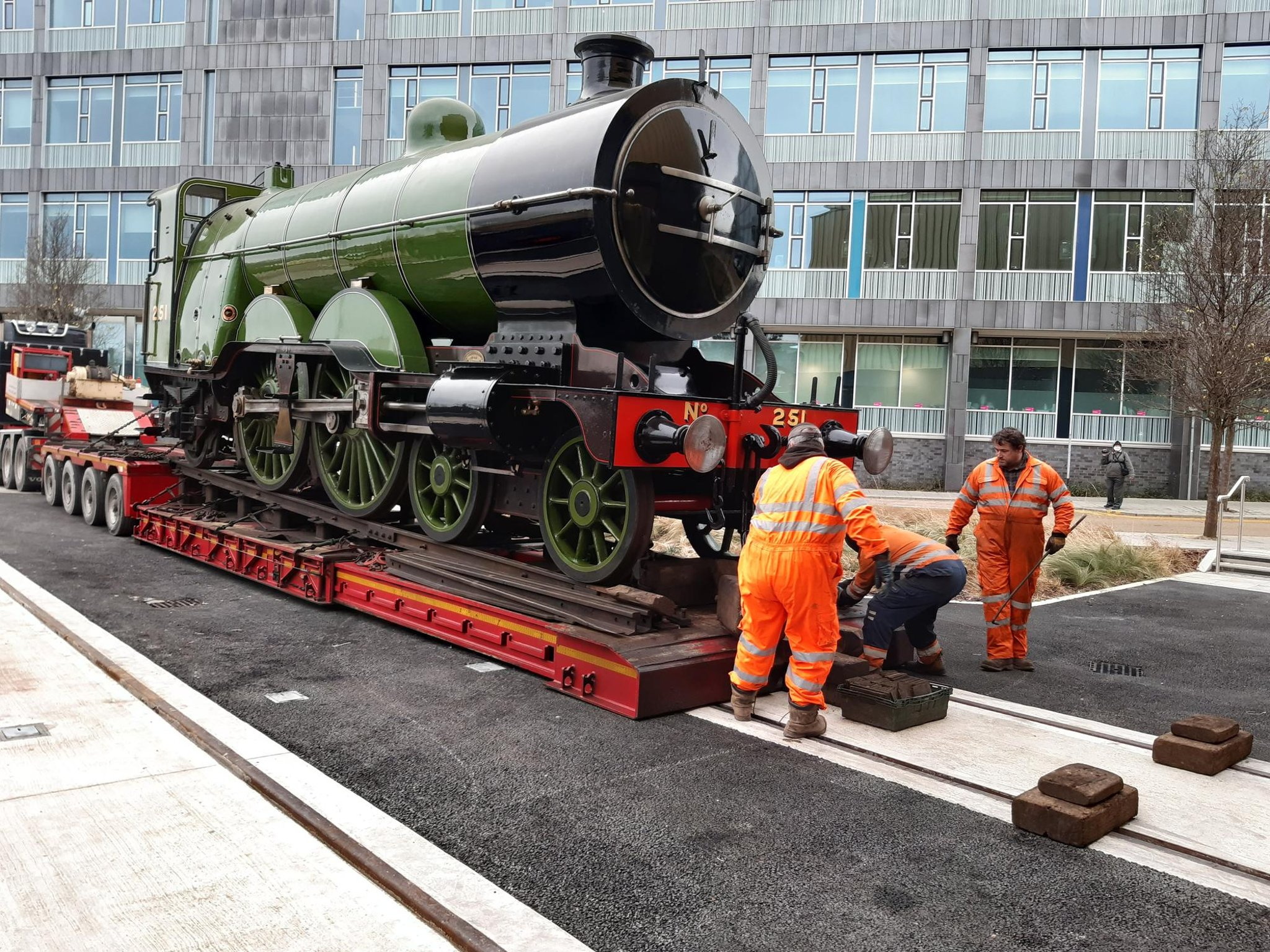 Historic railway loco takes up residence in new South Yorkshire museum