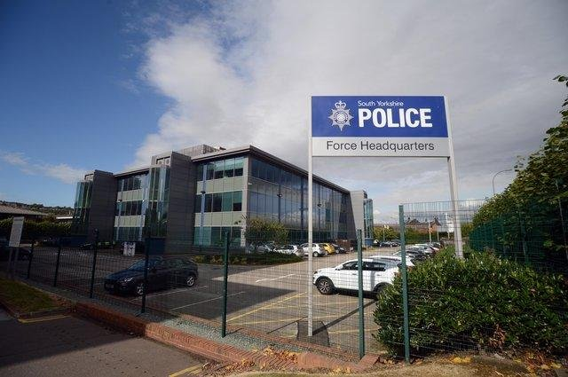 South Yorkshire Police headquarters.