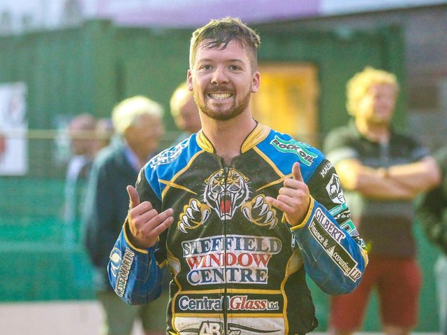 Sheffield Tigers' Kyle Howarth. Pic: TAYLOR LANNING