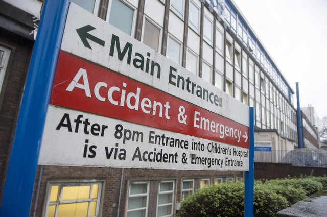 Sheffield Childrens HospitalPicture Dean Atkins