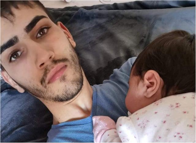 Bogdan Chirita, 21, had a three month old baby daughter.