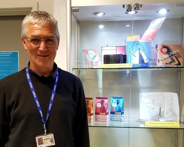 Teacher David Kirkup is retiring after 29 years serving King Edward VII School